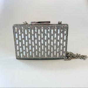 ❣️SOLD❣️. Zara Mirror Box Clutch